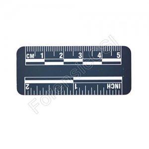 Blue Photo Ruler 5cm 2 inch