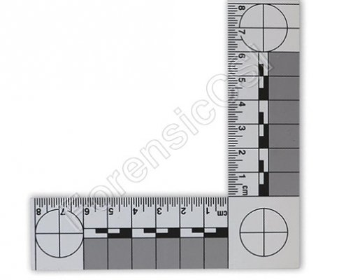 L Shape Magnetic Reversible Scale 8 x 8cm