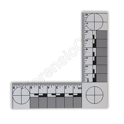 L Shape Magnetic Reversible Scale 8 x 8cm