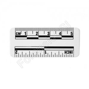 Wihte Photo Ruler 5cm 2 inch