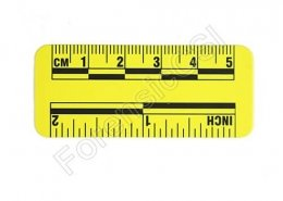 Yellow Photo Ruler 5cm 2 inch